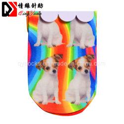 Padrão de cão 360 crianças Tubo Impresso Digital meias de Nylon