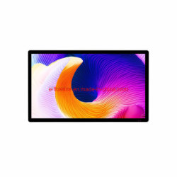 """Visor LCD de 15,6"""", visor digital, tela LCD, moldura fotográfica digital e interactiva com ecrã LCD táctil capacitivo Leitor Android construído em"""