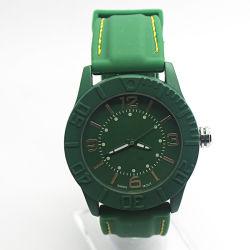 Moda reloj deportivo de Plástico con bisel giratorio