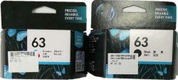 HPのインクジェット・プリンタのカートリッジのための元のインクカートリッジの黒およびカラー63