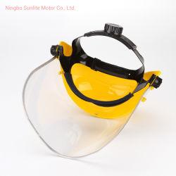 安全ヘルメットのための再使用可能なハンドシールドのゆとりブラケット