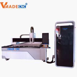 Stahlscherblock CNC-Metallfaser-Laser-Ausschnitt-Maschine laser-1000With2000With3000W für rostfreies Aluminium