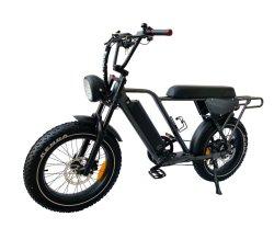 モーター48V 500W 750W脂肪質のタイヤの極度の電気バイクの自転車73が付いているQueene/2020新しいEのバイク