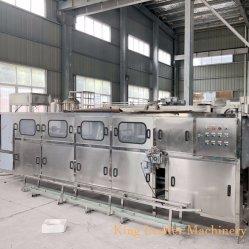 Flaschenreinigung-füllende mit einer Kappe bedeckende Maschine des Fabrik-Preis-600bph 5gallon