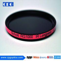 (RG1000) 1100-1400Nm enduites filtre optique pour la photographie