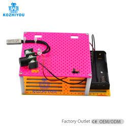 Stuk speelgoed van de Stoom van het Brandalarm van de Sensor DIY van de Temperatuur van de vlam het Onderwijs en Model van de Verrichting van het Experiment van de Fysica van de Middelbare school het Hand