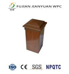 Asa-pvc Decoratie van de Tuin van de Leuning WPC van de Co-extrusie de Houten Plastic Samengestelde