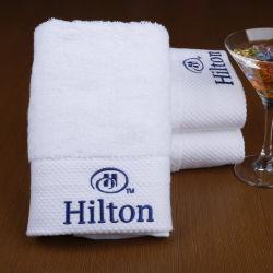 Tovagliolo bianco normale 100% dell'hotel del tovagliolo di bagno del tovagliolo di Terry del cotone