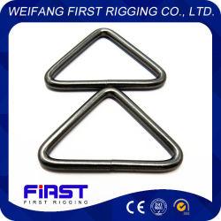 十字棒が付いている海洋のハードウェアのステンレス鋼の三角形のリング