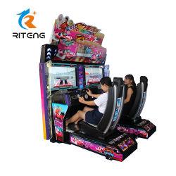 大人のためのゲームを競争させるゲーム・マシンのレースカーのビデオを競争させるアーケード