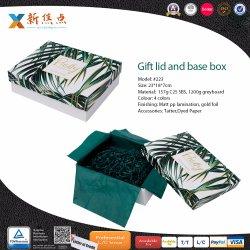 Custom печать Grayboard основание крышки жесткого свадебный фестиваль Подарочная упаковка