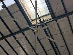 Super grande de Refrigeração de Ar do Ventilador Hvls com Msip Motor para a poupança de energia Ventilação Dan