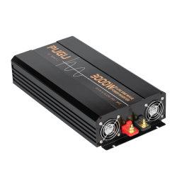 3000W CC à l'AC convertisseur de puissance DC12V/24V/48V à l'AC100V/110V/120V/220V/230V/240V
