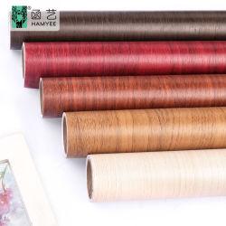 DIY Film selbstklebende Tapete Wand Sticker Holz Getreide Möbel Renovierung Küchenschrank Wasserdichte Dekoration