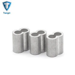 DIN3093 EN13411-3 алюминиевый Овальный стакан для стального троса подключение