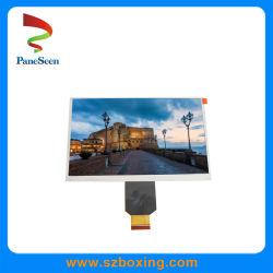 7インチの800 (RGB) *480解像度/600光およびRGB I/Fのビデオドアの電話のための幅温度LCD TFTのモジュール