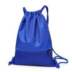 À prova de venda quente 420d mochila de poliéster saco para roupa suja para crianças
