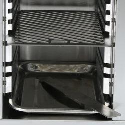 Edelstahl-Gas-kochender Ofen