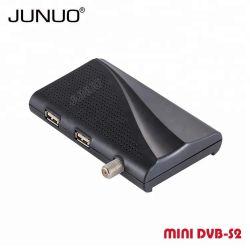 HD DVB Junuo S2 de Vídeo Digital de Alta Definição de 1080p do Receptor de Satélite com MPEG-2/-4 H. 264 Cheio