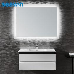 Specchio di rame di alluminio dell'estetica di trucco Backlit LED dello specchio di vanità della stanza da bagno della casa dell'hotel LED