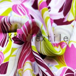Impression numérique de gros de 100 % polyester Tissu chiffon