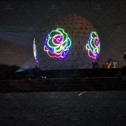 Laser puro del diodo 40W RGB di illuminazione esterna