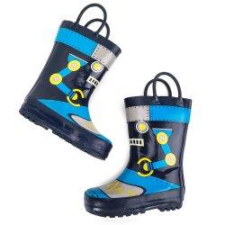 La pioggia dei bambini calza i caricamenti del sistema svegli dei pattini della pioggia del ragazzo