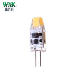 G4 de 1,5 W Bombilla LED AC DC 12V COB Decoración lámparas de araña de cristal lámpara G4