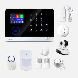 3G GSM WiFi نظام إنذار الحريق المنزلي الذكي - دخان المنزل نظام إنذار الأمان
