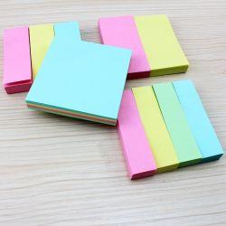 Commerce de gros 76*76mm couleur série Sticky Notes Notes en temps opportun
