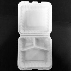 Biologisch abbaubare Einweg PP Food Container Lunch Box Geschirr Dinner Set Kunststoffverpackung