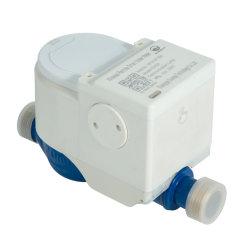 Télécommande sans fil de cuivre de type humide Compteur d'eau de commande de soupape, FSK/Lora