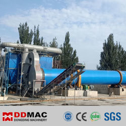 Arena Químico Industrial, el carbón, yeso, cemento, polvo de mineral de secador de tambor giratorio Proveedor