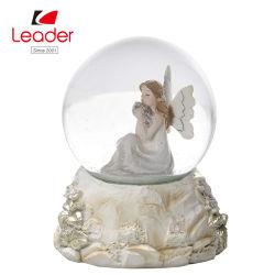 Polyresin Angel снег земного шара, пользуйтесь функцией настройки качества воды в домашних условиях глобус сувенирный