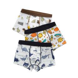 6PCS/Definir adorável young Bonitinha Algodão meninos filhos crianças Imprimir roupa interior de algodão bebê meninos Boxer breve