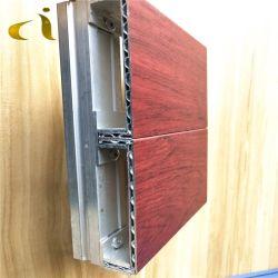 لوحة مركبة من الألومنيوم المركزي ACP من الألومنيوم المقاوم للحطب مقاس 2 متر مقاس A2 من أجل ألواح السقف على الجدار