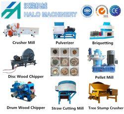 La madera de gran escala automática de virutas de chip y/Bio-Fuel Máquina Briquetting con alta capacidad