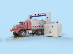 Железнодорожной платформы перетащите погрузчик рентгеновского контроля безопасности профиль машины 200 x 200 x 100 мм поле можно увидеть после проникновения стальную пластину толщиной 300 мм