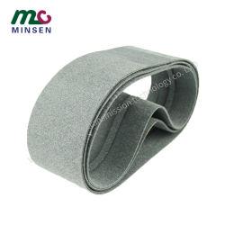 Fabrik Grau Doppelseitige Filz Führung Förderband Anti-Static, Anti-Deviation, Hochtemperaturbeständige Wolle Gewebte Atmungsaktive Förderband Hersteller
