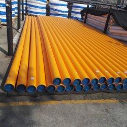 Orange, gelbes HDPE Rohr für Gas, PE100 RC