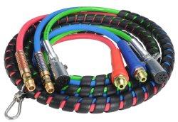 Полугрузовой Yute 15FT 3-в-1 Комплект обвязки ABS Электрическая и резиновая Воздушный шланг