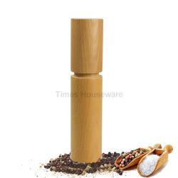Кухня соль и перец Миллс цельной древесины