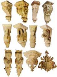 Les nouvelles conceptions de corbeaux et chapiteaux sculptés à la main