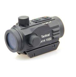 1X22 Tactical Reflex Vista láser caza Punto Rojo ámbitos (BM-RSN6043)