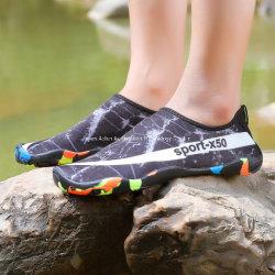 Estilo de natación de la playa Caliente hombres zapatos de plataforma zapatos botas Non-Slip Buceo Piscina vadeando zapatos mujer Zapatos de natación