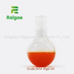 El DHA CRUDO Aceite crudo de algas a granel con la pureza del 45%-50%