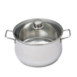 2020 roestvrij staal Hot Pot Soup Base Non Stick Stock Pot