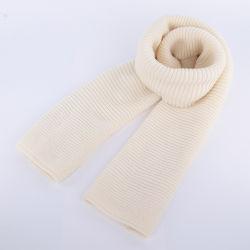 人および女性のための冬の暖かいニットの柔らかいスカーフ