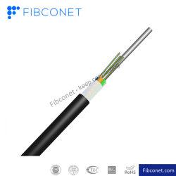 Fibconet gute Qualität Outdoor-Innenfaser-ADSS ASU TPU LSZH-Fallkabel für Luftkanal