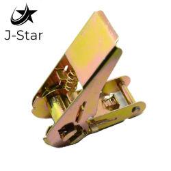 """1つの""""ラチェットのためのX1200lbs黄色い亜鉛によってめっきされるカムバックルは結ぶ"""